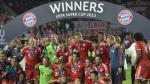 ¡Bayern Munich es campeón de la Supercopa! - Noticias de david alaba