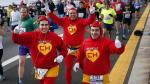Hinchas del 'Chapulín Colorado' corrieron la Maratón de Nueva York - Noticias de geoffrey mutai