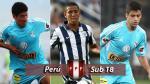 4 figuras de la Selección Sub 18 para los Juegos Bolivarianos - Noticias de partidos fecha 18 descentralizado 2013