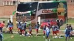 Universitario vs. Real Garcilaso: el equipo de Fredy García entrenó a puertas cerradas - Noticias de jhefryn sedano