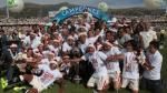 Universitario campeón: la celebración de jugadores en el camerino (VIDEO) - Noticias de universitario: centenario de lolo fernández