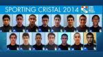 Sporting Cristal: este es el plantel rimense para la temporada 2014 - Noticias de alex araujo