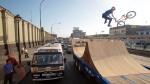 Genio de los X-Games hizo saltos mortales sobre el tráfico de Lima - Noticias de daniel dhers