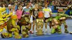 Los top del tenis se vacilaron en la exhibición del Abierto de Australia - Noticias de samantha stosur