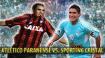 Atlético Paranaense: ¿cómo se prepara para enfrentar a Sporting Cristal? - Noticias de lucas olaza