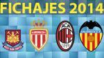 Fichajes 2014: los cuatro equipos europeos que mejor se reforzaron - Noticias de adel taarabt