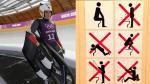 Sochi 2014: organizadores enseñan a deportista a cómo usar un baño - Noticias de sebastien toutant