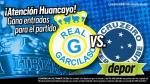 Estos son los ganadores de las entradas para ver a Real Garcilaso en la Copa Libertadores - Noticias de fermin soriano