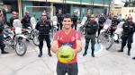 Juan Aurich: Policía chiclayana también es hincha de Germán Pacheco - Noticias de violeta ayasta
