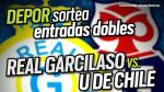 Real Garcilaso vs. 'U' de Chile: Depor y FOX Sports te regalan 12 entradas dobles - Noticias de real garcilaso