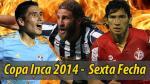 Copa Inca 2014: fecha, hora y canal de la sexta fecha del torneo - Noticias de simon estadio heraclio tapia hora