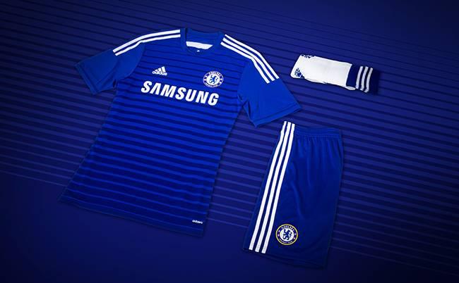 Chelsea presentó su nueva camiseta para la temporada 2014-15 ...