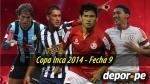 Copa Inca 2014: esta es la programación de la novena fecha del torneo - Noticias de simon estadio heraclio tapia hora