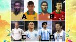 Brasil 2014: ¿superarán Cristiano Ronaldo, Messi, Neymar y Rooney a sus predecesores? - Noticias de portugal vs. suecia