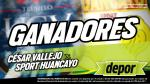 César Vallejo vs. Sport Huancayo: estos son los ganadores de las entradas dobles para el partido en Trujillo - Noticias de andre lecca