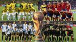 Brasil 2014: las listas de los 32 países clasificados para el Mundial - Noticias de edwin ramos herrera