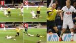 Howard Webb recibió dura falta tras comenzar a jugar con balón por su cuenta (VIDEO) - Noticias de ledley king