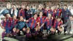 Barcelona y la foto del equipo con los técnicos más exitosos del momento - Noticias de jose mari bakero
