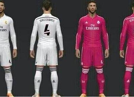 4f3632dc9a9bb Real Madrid lucirá camisetas alternativas de color negro y rosa .