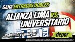 Alianza Lima vs. Universitario: estos son los ganadores de las entradas dobles - Noticias de tenorio torres