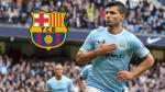 Sergio Agüero quiere jugar con Lionel Messi en el Barcelona - Noticias de leonel aguero