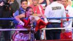 Linda Lecca conquistó el título supermosca de la AMB (VIDEO) - Noticias de daniela bermudez
