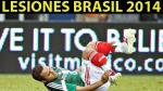 Brasil 2014: conoce a los más de 20 lesionados que no irán al Mundial - Noticias de pierre webo